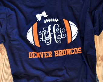 Denver Broncos Handmade Game Day T-Shirt f28bd9f10