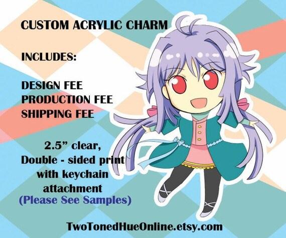 Custom Acrylic Charms
