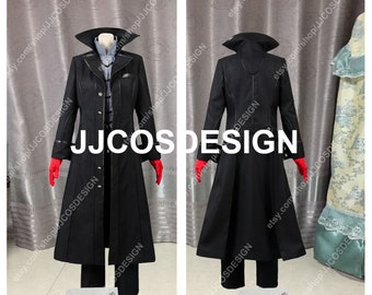 7bf053f14b76 Customize Persona 5 Joker Protagonist Cosplay Costume on Your Size