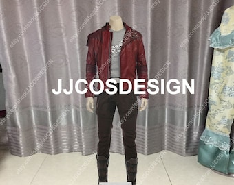 de9e2ef55 Customize Guardians of the Galaxy 2 Star-Lord Peter Quill Cosplay Costume  on Your Size
