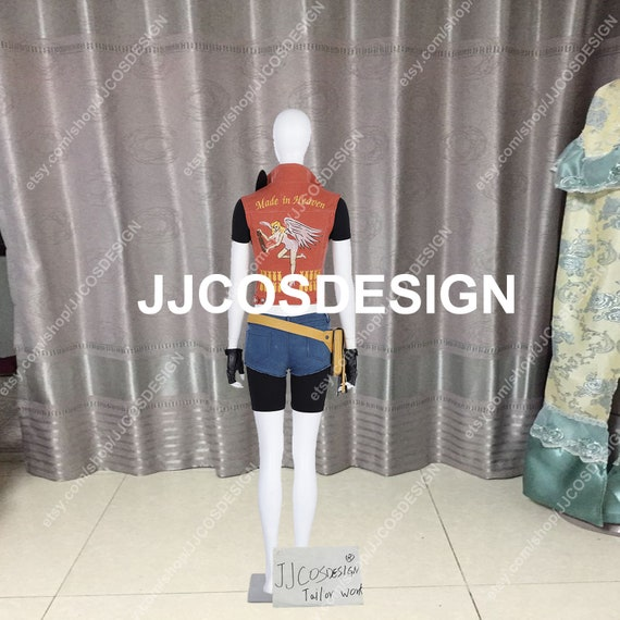 Customize Resident Evil 7 Biohazard Claire Redfield Cosplay Costume On Your Size