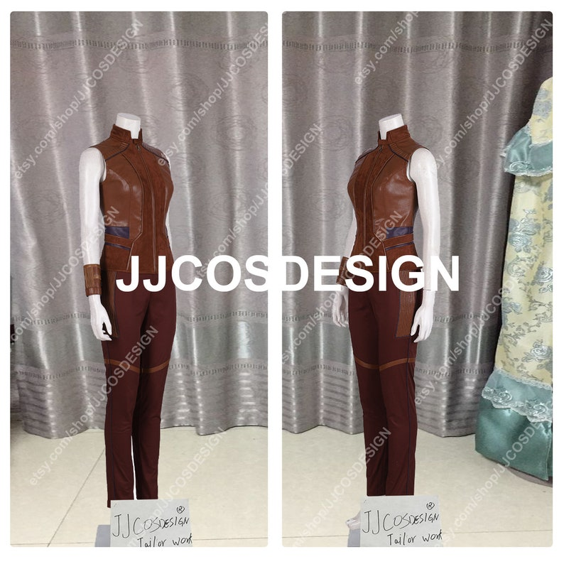 Customize Avengers Endgame Guardians of The Galaxy Nebula Cosplay Costume on Your Size