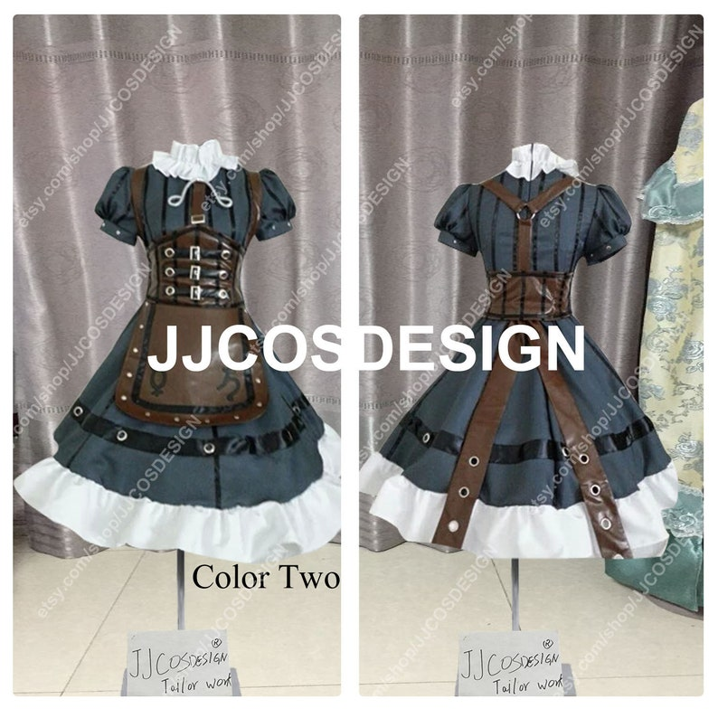 321889e3991bb Customize Alice Madness Returns Alice Steampunk Maid Cosplay Costume on  Your Size