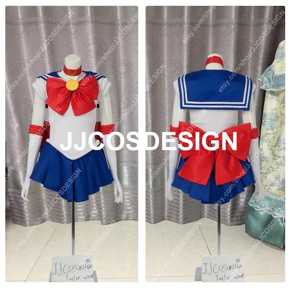 Sailor Moon Moon Usagi Uniform Ver2 Cosplay Custom Made