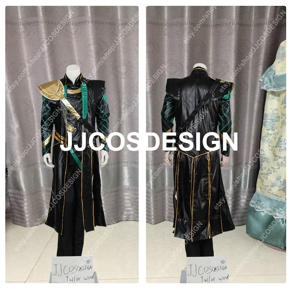 Customize The Avengers Loki Cosplay Costume On Your Size Free Shipping