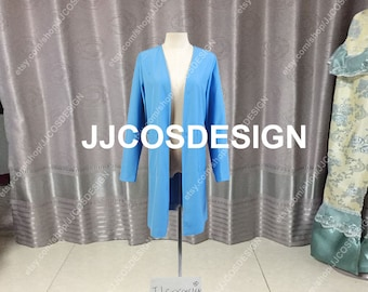 Customize Star Trek The Next Generation Dr Beverly Crusher Coat Cosplay Costume on Your Size