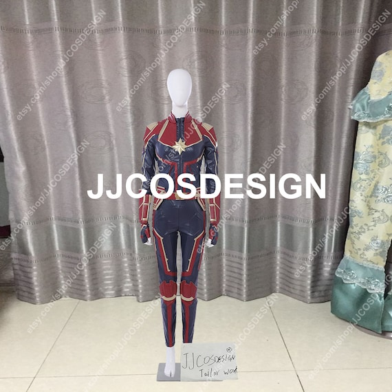 Customize Captain Marvel Carol Danvers Cosplay Costume On Your Etsy The improvement for this costume: etsy