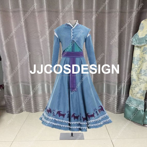 Customize Princess Anna Costume Olaf's Adventure 2 Anna | Etsy