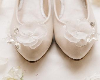 4ac0870a3a7e White wedding shoes, Wedding shoes, bridal ballet flats, low wedding shoes, bridal  flats, wedding flats, leather shoes, ballet flats