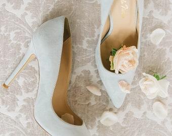 Mint wedding shoes   Etsy