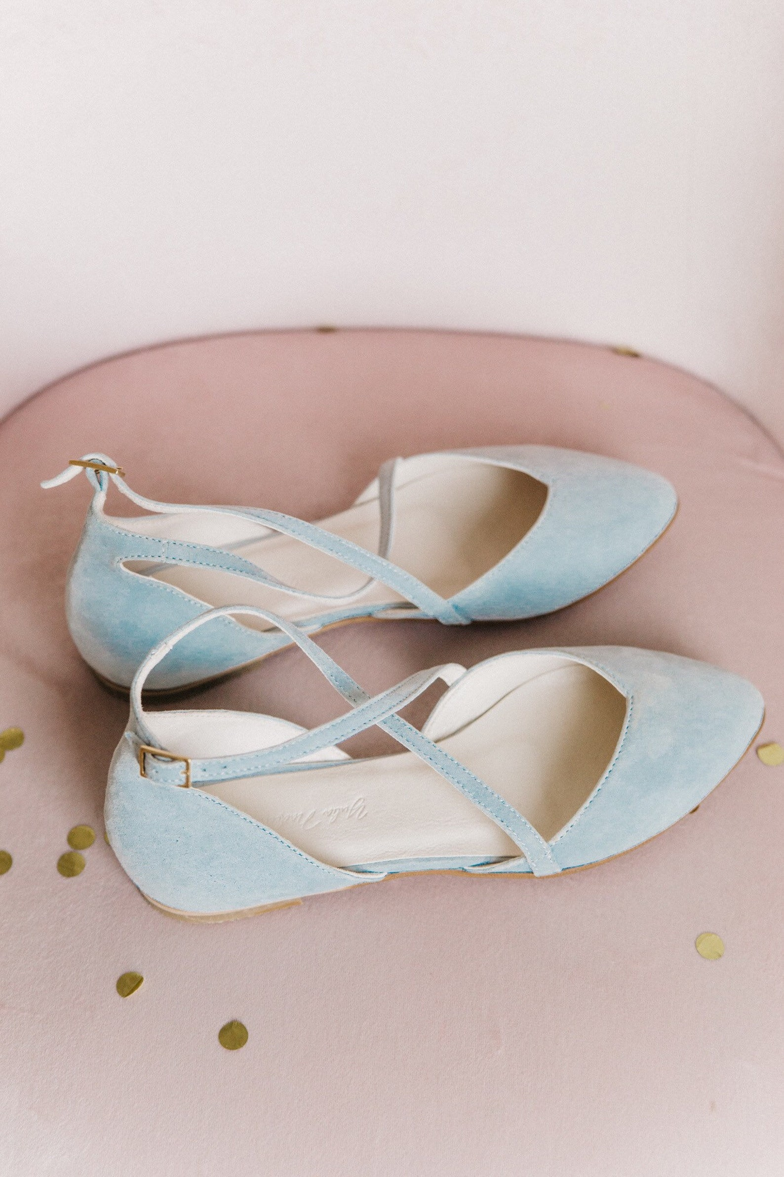 wedding shoes, blue wedding shoes, bridal ballet flats, low wedding shoes, bridal flats, wedding flats, silver flats, ballet fla