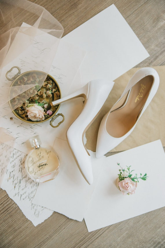blanc mari de de chaussures de mariage Chaussures mariage chaussures 6ZAzxnqX