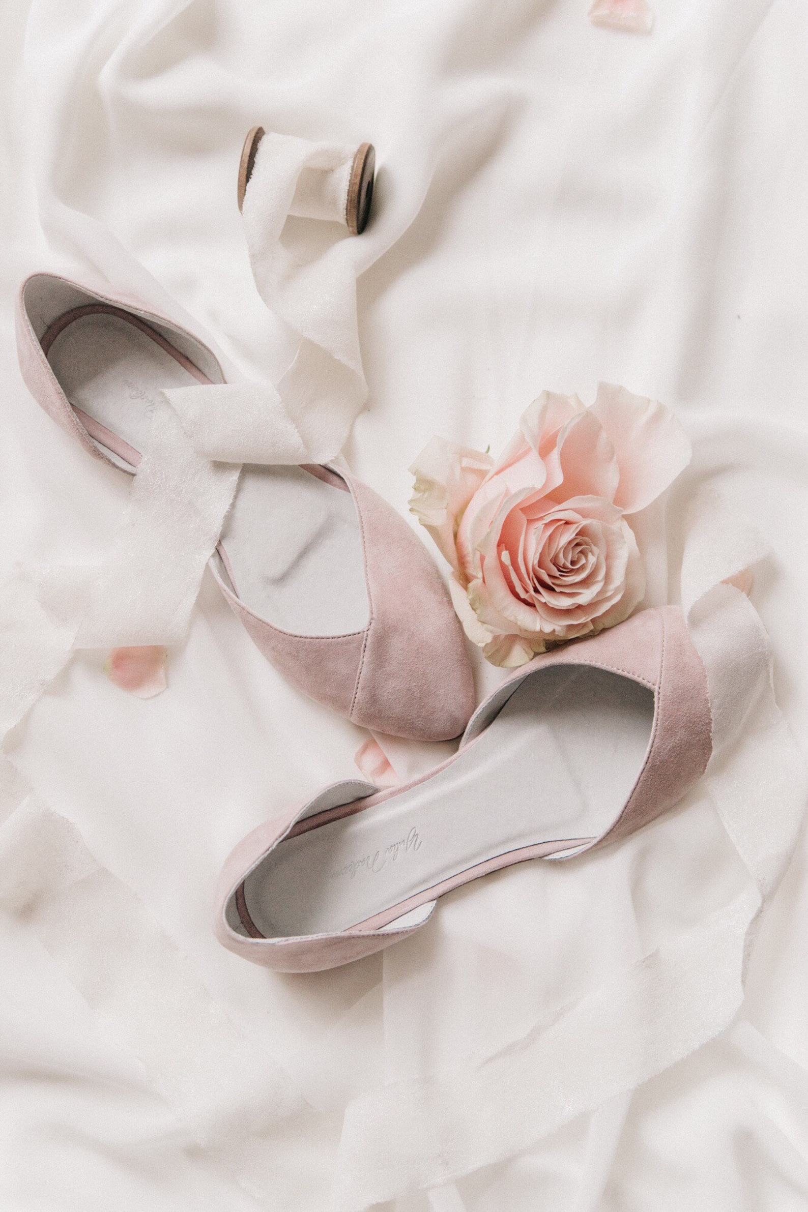 wedding shoes, pink wedding shoes, bridal ballet flats, low wedding shoes, bridal flats, wedding flats, silver flats, ballet fla