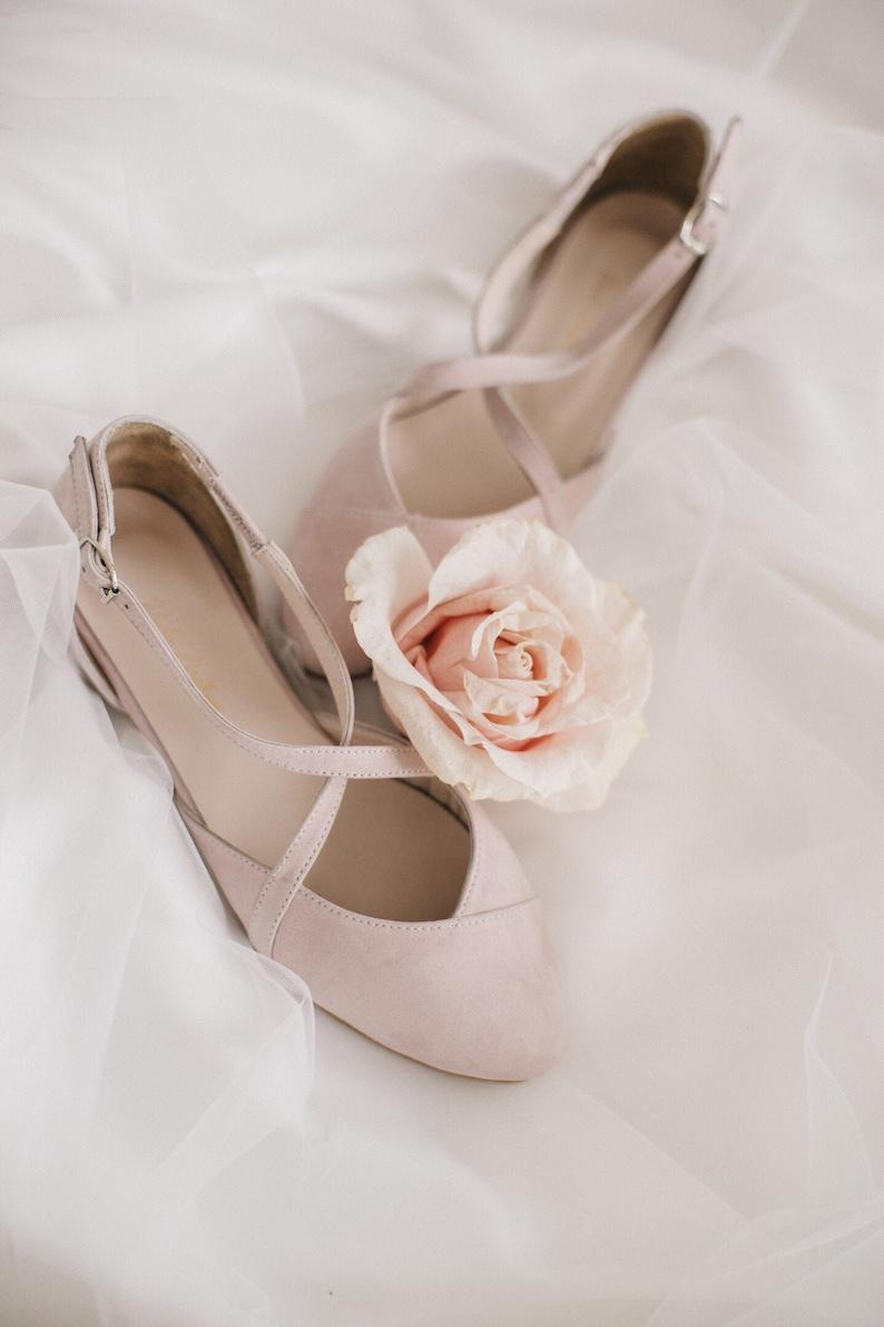 Brautschuhe flach