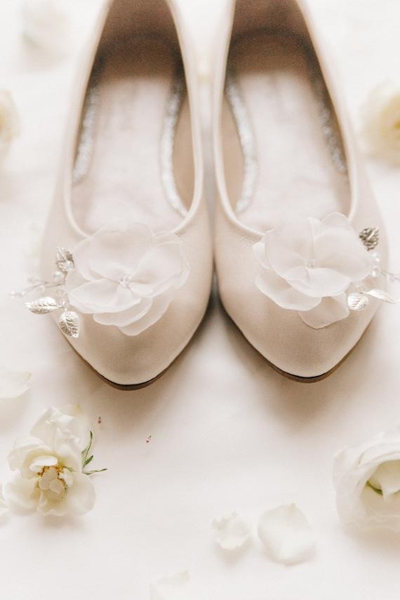 Weisse Hochzeitsschuhe Hochzeitsschuhe Braut Ballerinas Etsy