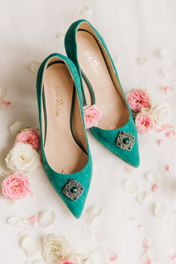 77957bd431c713 Wedding shoes green wedding shoes bridal shoes wedding