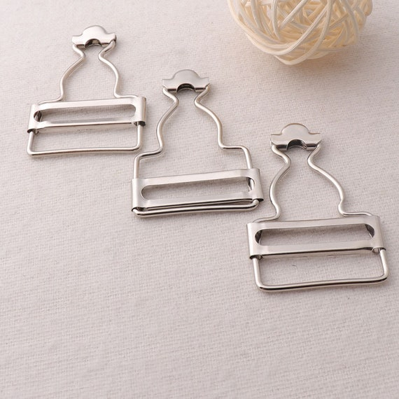 12 Set Dungaree Fasteners Clip Bib Brace Fasteners for Clothing Accessories