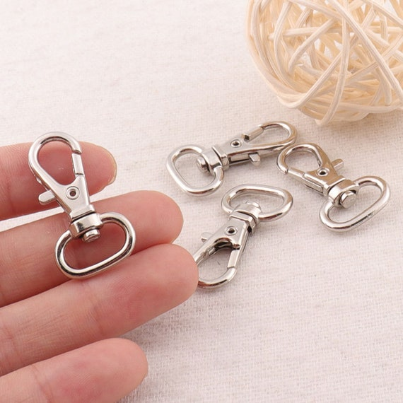 "20Pcs 42mm//1.68/"" Length Alloy Swivel Clasp Hook for purse hardware making"