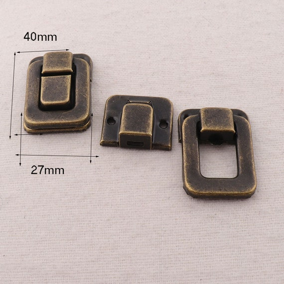 FK4 1 Ancient Bronze Belt Buckle,Fasteners Set Strap Buckle Buckles Bag Luggage-2 sets