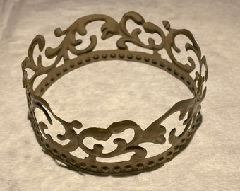 """12"""" circumference Golden Crown"""