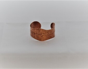 Adjustable copper braclet