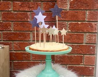 Star Gazer Cake Topper
