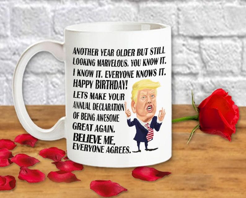 Trump Mug Birthday Gifts For Her Mom Sister Aunt MAGA Funny
