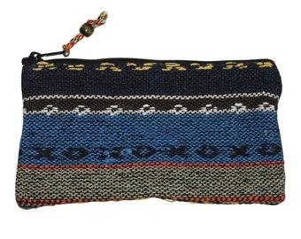 Reißverschlusstasche 15 cm x 11 cm Baumwolle Muster 01