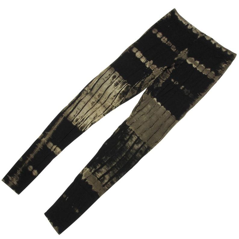 Leggings Batik Pattern 02 Black BDepartment