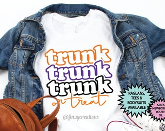 Kid Halloween Shirt | Trunk or Treat Shirt | Boy Halloween Shirt | Girl Halloween Shirt | Trunk or Treat Party | Trick or Treat | Halloween