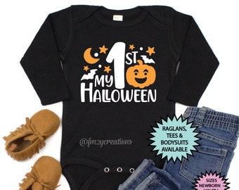 My First Halloween Shirt | My 1st Halloween | First Halloween Shirt | Halloween Shirt | First Halloween | Halloween Outfit | Baby Halloween