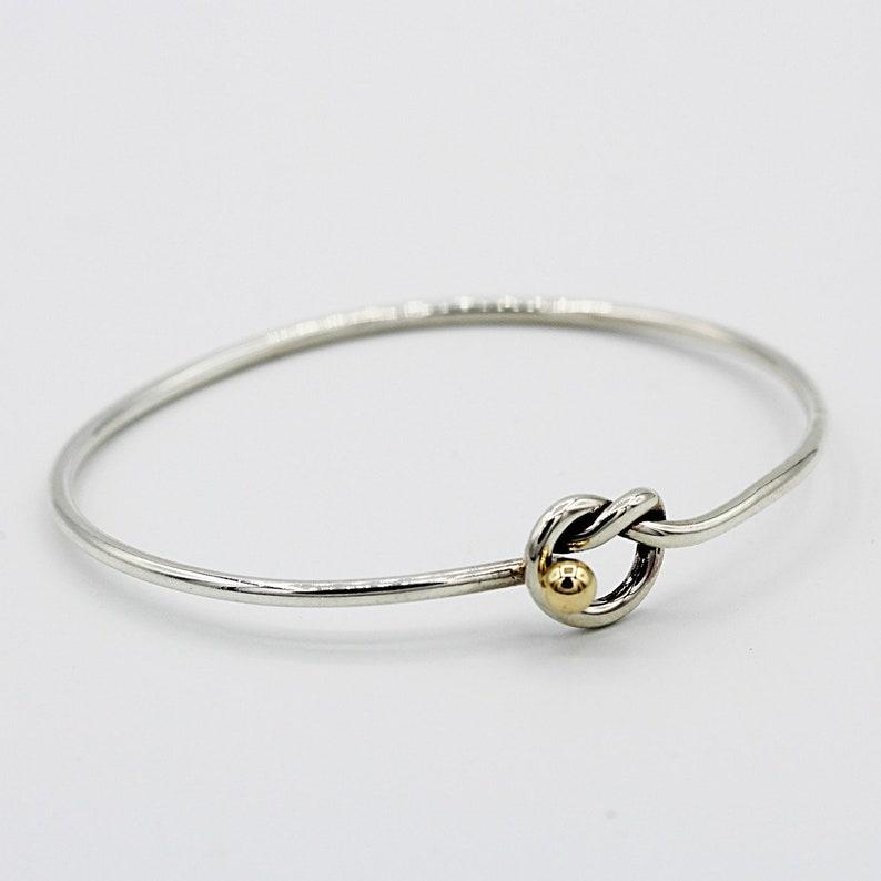 086a9400a Vintage Tiffany and Company Love Knot Bracelet | Etsy