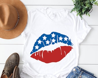 American flag svg, Usa flag svg, Lips svg, Woman svg, Diva svg, Flag svg, 4th of july svg, Merica svg, SVG, DXF, eps, png, pdf, Afro svg,