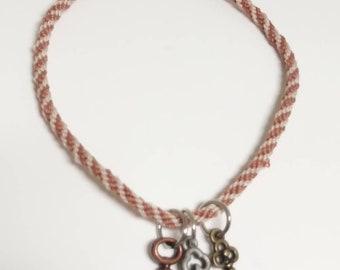 Three-key bracelet. For women