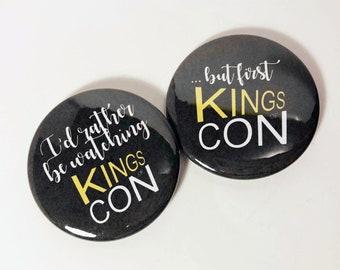 "Kings of Con 2.25"" button set #1"