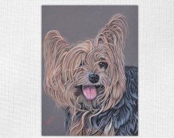 Custom pastel portrait Custom Pet Portrait from photo Pet portraits Custom dog Painting Custom dog painting Handmade gift Pastel drawing