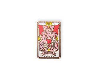 The Hope - Sakura Cardcaptor anime hard enamel pin