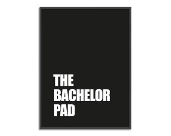 Bachelor pad art | Etsy