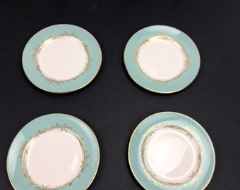 Royal Doulton Melrose H4955 (4) bread and butter plates