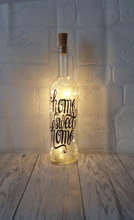 Home Sweet Home Bottle