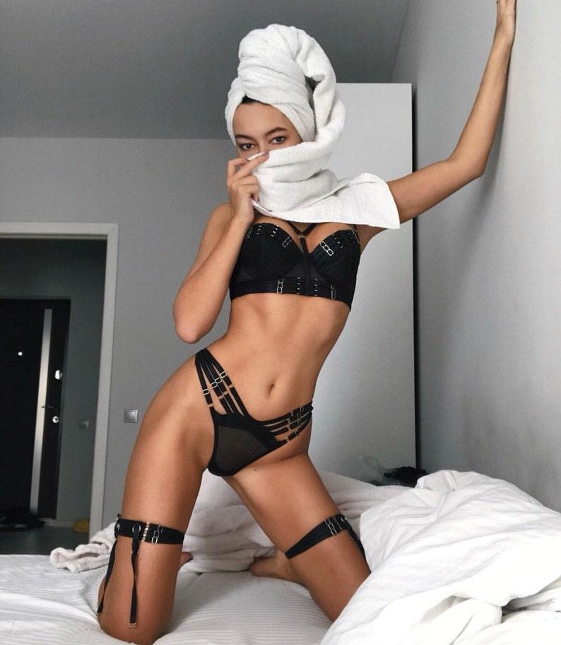 6283954529b Sheer lingerie sexy lingerie erotic lingerie strappy