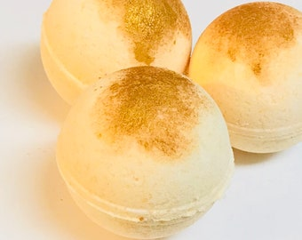Sugar Cookie Large Bath Bomb 5oz Fizzies Natural Gifts for Her