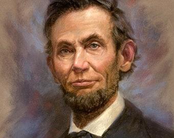 "Abraham Lincoln 1864- 18x24"""