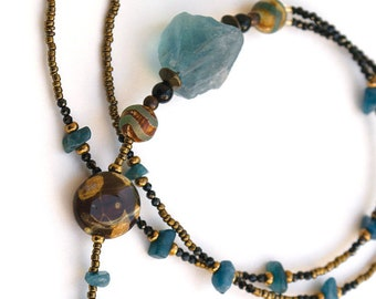 Bohemian Fluorite necklace