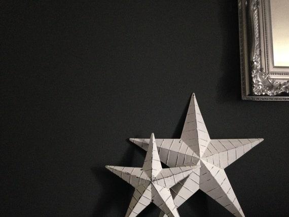 Metal rustic Amish Style Barn Star 34 cm