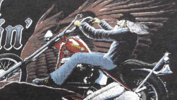 Vintage 80s,HARLEY DAVIDSON,Harley Davidson tshir… - image 6