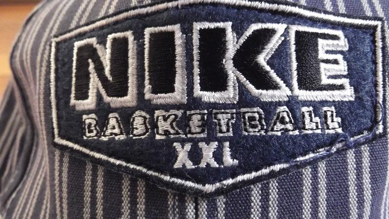 c3c9d0739b359 Vintage 90s Air Nike Swoosh Nike Basketball XXL pinstripe