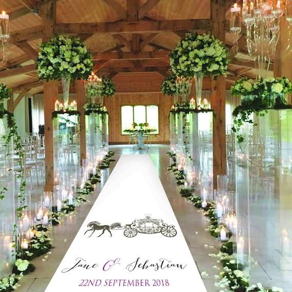 Fairytale Wedding Aisle Runner - Personalised Wedding Aisle Runners