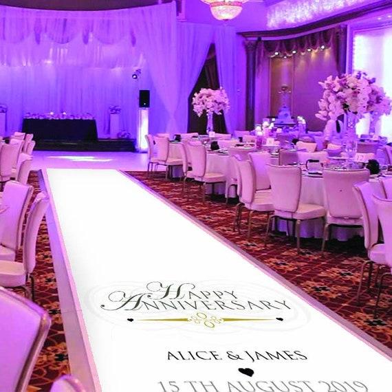 Happy Anniversary Carpet/Venue Decoration
