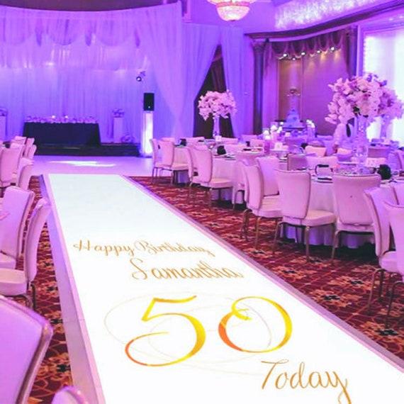 Birthday Celebration Carpet Decoration